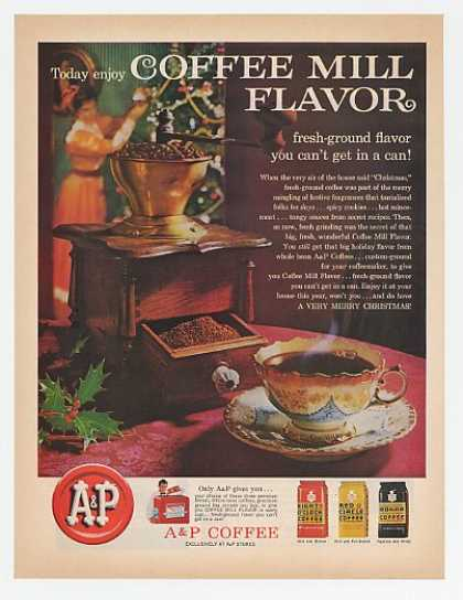 A&P Coffee Old Coffee Mill (1961)