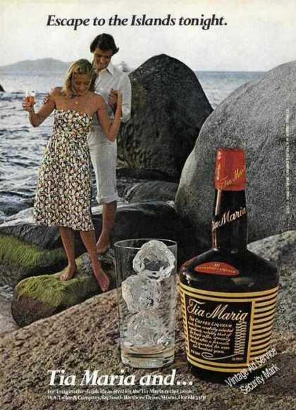 Tia Maria Escape To the Islands Tonight (1979)