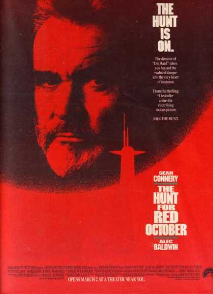 The Hunt For Red October (Sean Connery and Alec Baldwin) (1990)