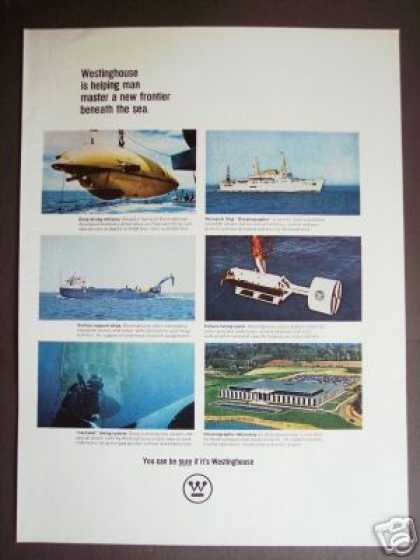 Deep-diving Submersible Oceanography Photo (1967)