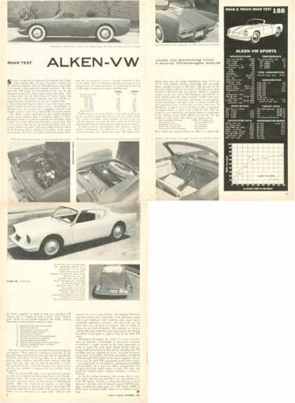 Rare Alken Vw Sports Road Test (1958)