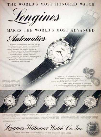 Longines Watch Co. (1955)