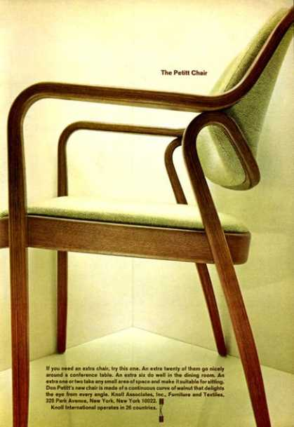 Knoll Don Petitt Designed Chair (1966)