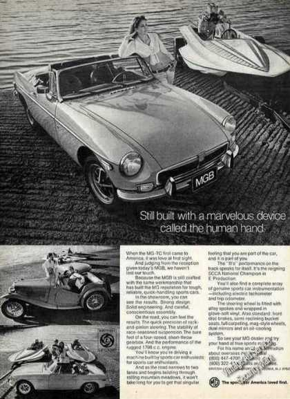 "Mgb ""Built With the Human Hand"" (1973)"