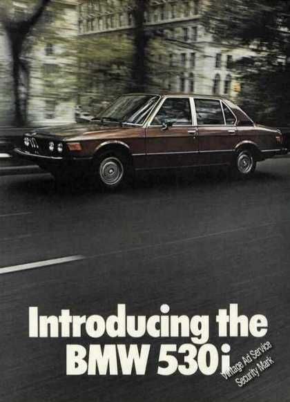 Introducing the Bmw 530i Beautiful Photo (1975)