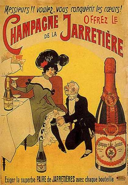 Champagne de la Jarretieri (1900)