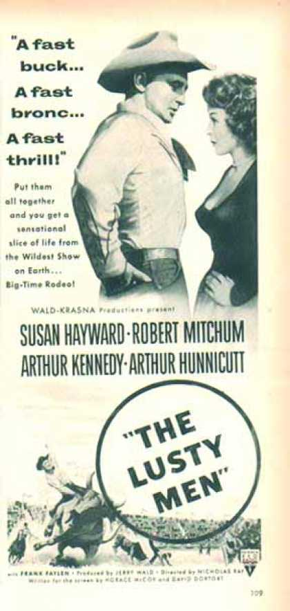 The Lusty Men Movie – Susan Hayward (1952)