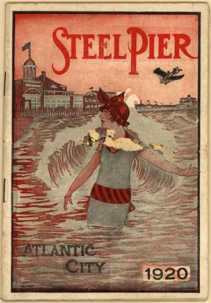 Atlantic City, NJ's misc. ads – Steel Pier (1920)