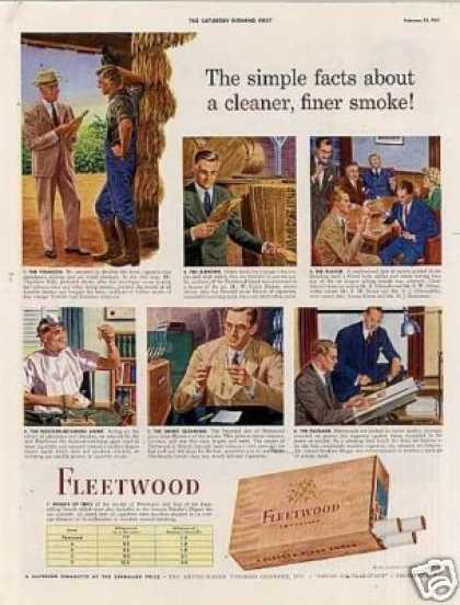 Fleetwood Cigarettes (1943)
