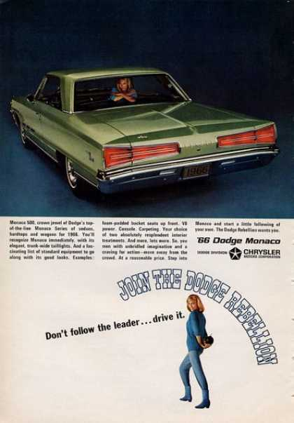 Dodge Monaco Don't Follow the Leader... (1965)