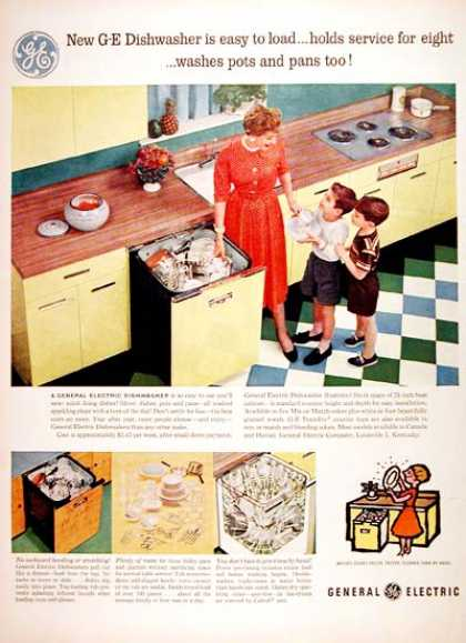 G.E. Dishwasher (1956)
