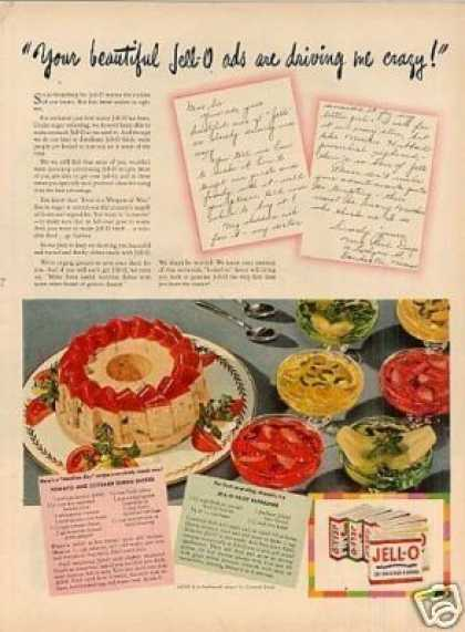 "Jello Ad ""Your Beautiful Jello Ads... (1944)"