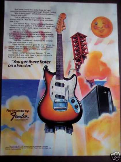 Fender Guitars Willardson Art Music (1975)