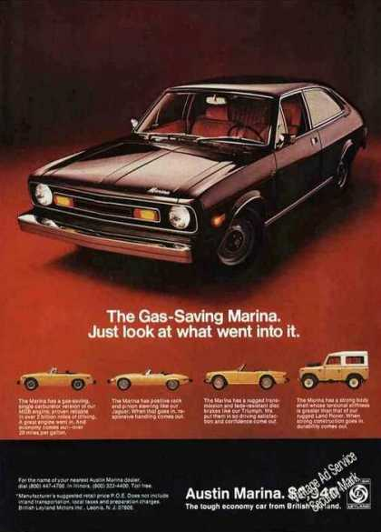 Austin Marina Photos Car (1974)