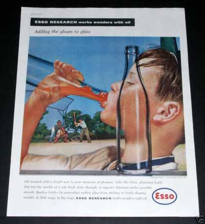 Old , Esso Research, Wonders, Oil (1957)