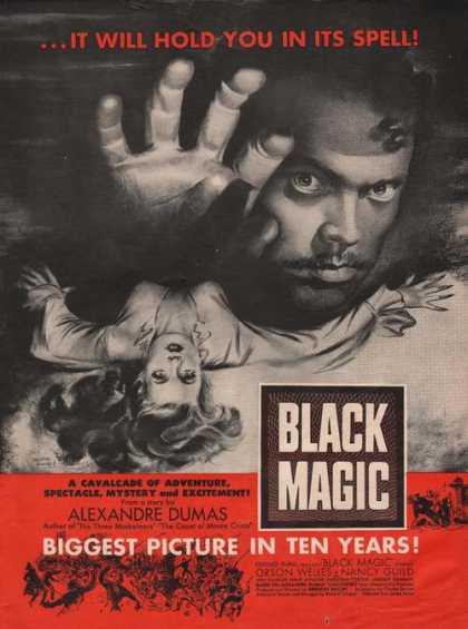Black Magic Orson Welles Nancy Guild Movie (1949)