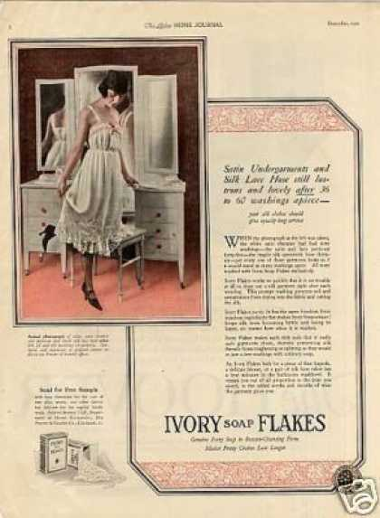 Ivory Soap Flakes Color (1921)