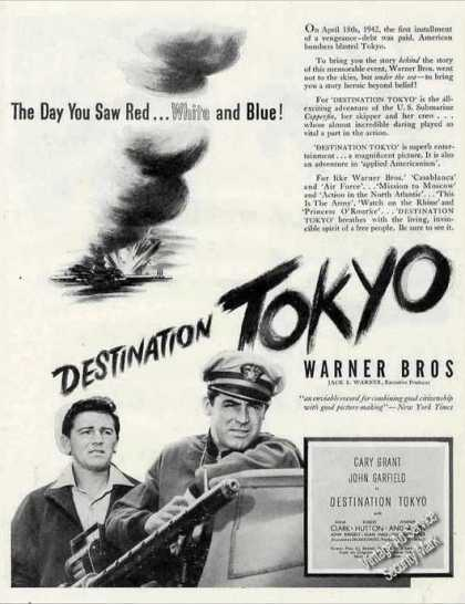 Cary Grant In Destination Tokyo Movie (1944)