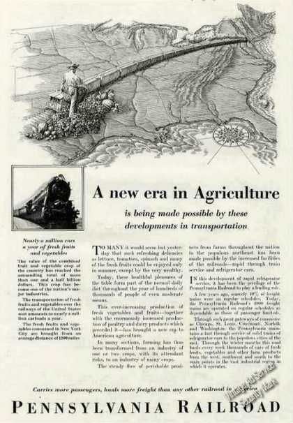 "Pennsylvania R.r. ""A New Era In Agriculture"" (1928)"