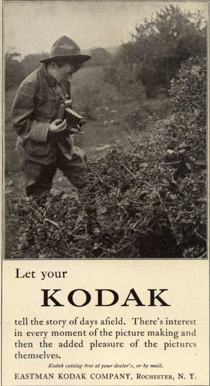 Kodak – Let your Kodak tell the story of days afield (1916)