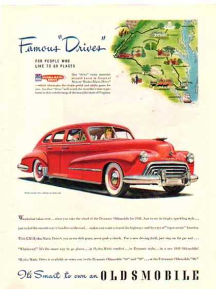 Oldsmobile Dynamic for Car – Famous Drives (1948)