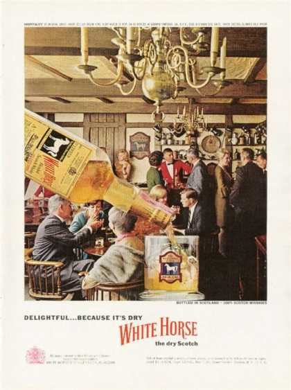 White Horse Cellar Scotch Pub Scene (1963)