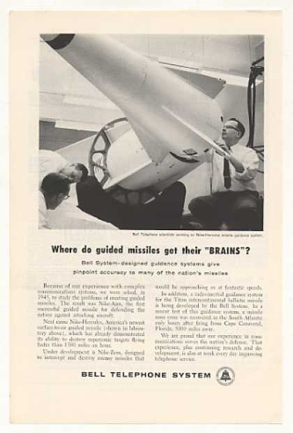 Bell Telephone System Nike-Hercules Missile (1959)