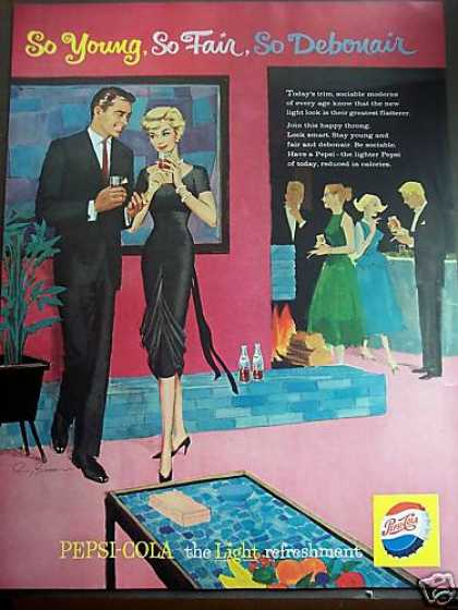 Pepsi Cola House Party Retro Soda (1959)