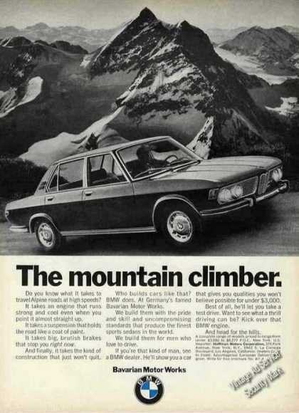 "Bmw ""The Mountain Climber"" Alpine Roads (1970)"