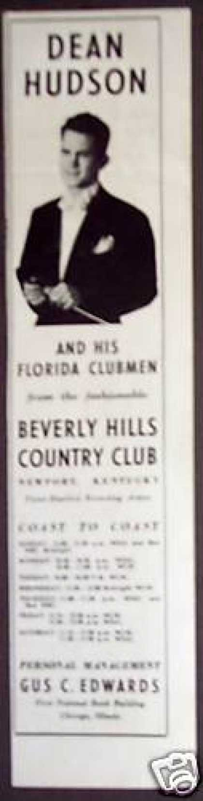 Dean Hudson and His Florida Clubmen Music Promo (1938)