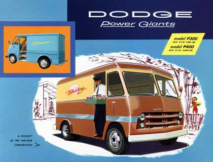 Dodge P300 delivery van (1958)