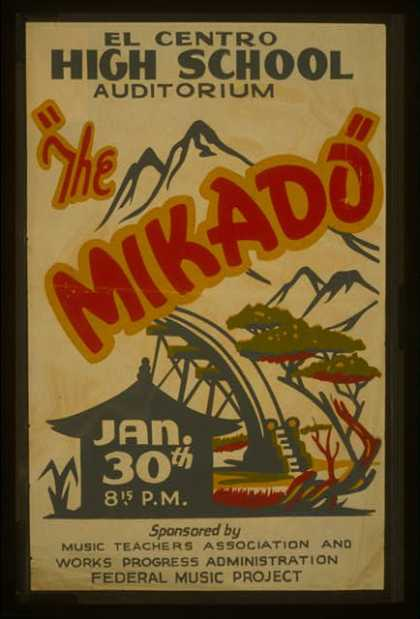 """The Mikado"". (1936)"