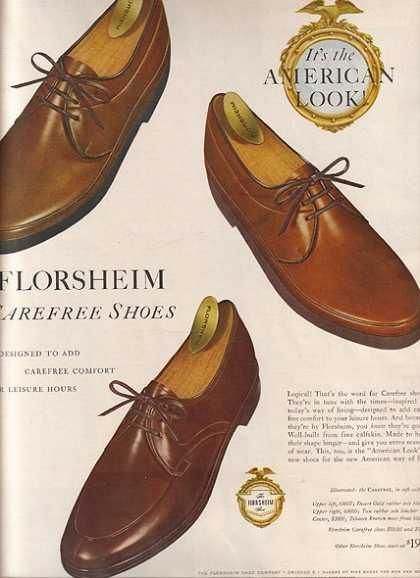 Florsheim's Carefree Shoes (1959)