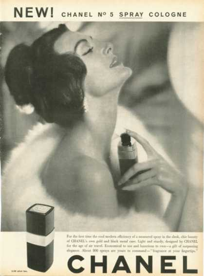 Chanel No 5 Spray Cologne (1958)