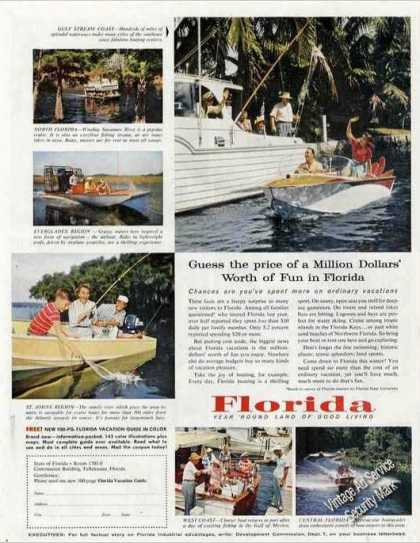 "Florida ""Million Dollars Worth of Fun"" Travel (1957)"