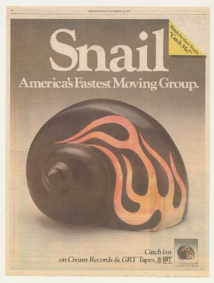 Snail America's Fastest Moving Group (1978)