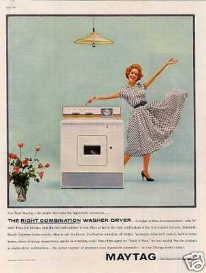 Maytag Washer-dryer (1960)