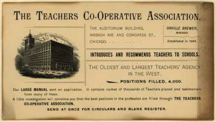 Teachers Co-operative Association's employment – The Teachers Co-operative Association