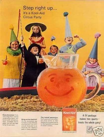 Kool-aid Ad Circus Party (1964)