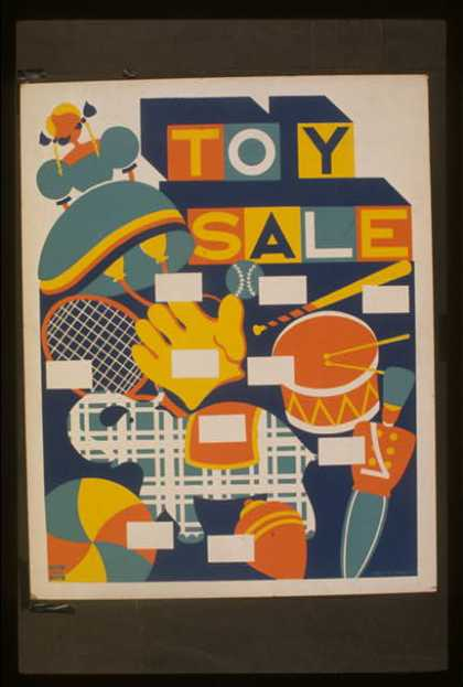 Toy sale. (1936)