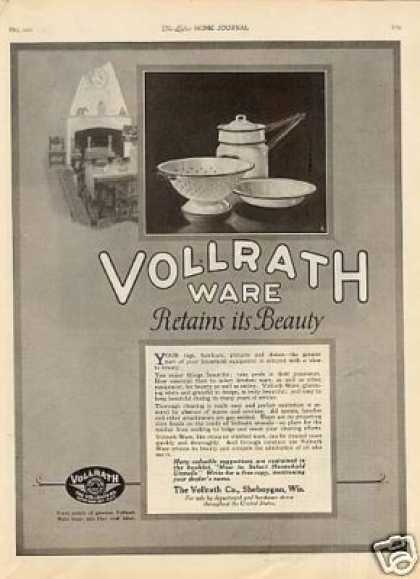 Vollrath Ware (1921)