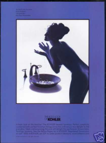Kohler Sink Naked Woman As I See It #33 Series (1997)
