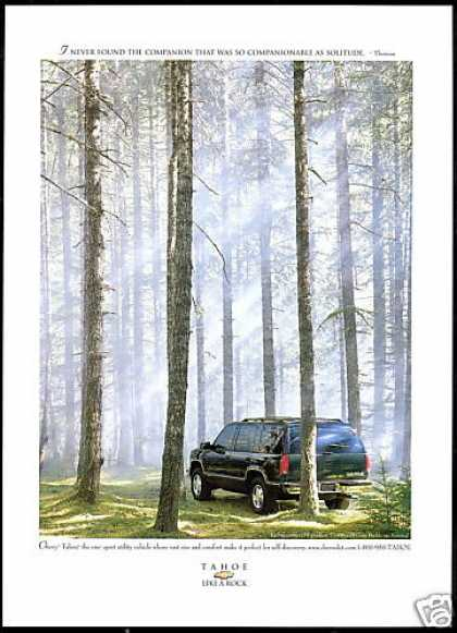 Chevrolet Tahoe SUV Truck Photo (1997)
