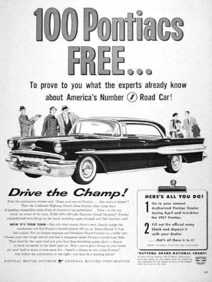 Pontiac Star Chief Giveaway (1957)