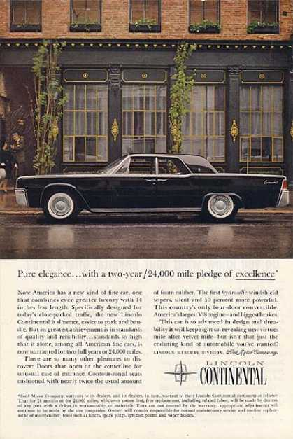 Ford's Lincoln (1961)
