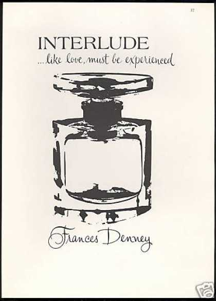 Frances Denney Interlude Perfume Bottle (1968)