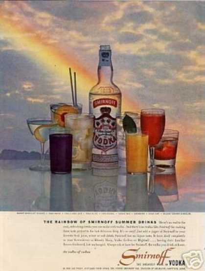 Smirnoff Vodka (1958)
