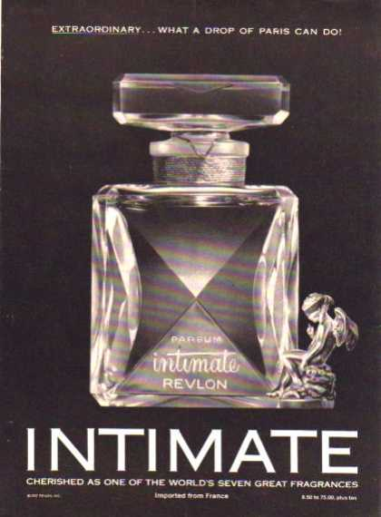 Revlon Intimate Perfum Bottle (1961)