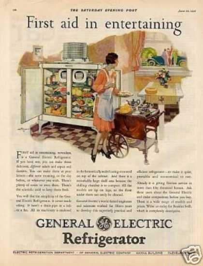 General Electric Refrigerator Color (1928)