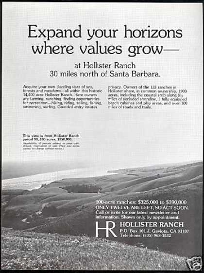 HR Hollister Ranch California Homesites Photo (1978)